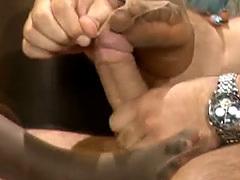 Pantyhose African Slut Footjob Riding Interracial
