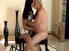 Japan girl old man and old femdom No wonder that the stuff he fishes o