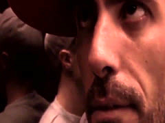 Jizzed english man analized by thug