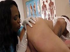 Black doctor babe rides