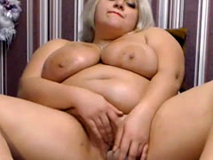 Delicious Bbw Is Squirting  Sexy Babe Home Alone