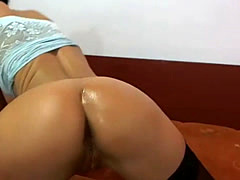 Webcam - Big Hips Whooty Teasing  Sexy Babe Home Alone