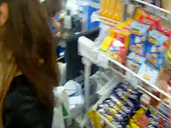 Pulled eurobabe POV fucked in a public space