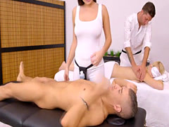 Karlee Grey is a super hot masseuse who gives happy end