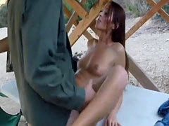My cock your ass Brunette gets pulled over for a cavity search and sti