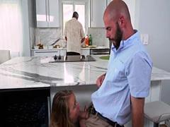 Spying on friends step daughter shower xxx Alyssa Gets Her Way With Da