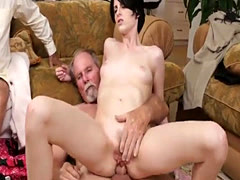 Step dad fucks friends daughter anal Frannkie goes down the Hersey hig