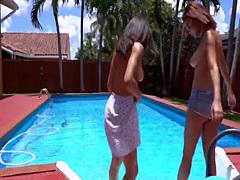Nicole Raven sweet girl sharing big cock lover with teen cute friend