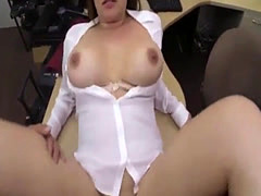 Big thick booty xxx Foxy Business Lady Gets Fucked!