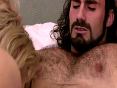 Shemale Aspen Brooks gets horny and ass fucked by a lucky guy