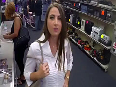 Rough public gangbang PawnShop Confession!