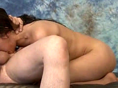 Brunette Trish Kiss Getting Her Face Held And Fucked Very Rough