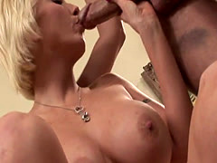 Cock sucking milf plowed