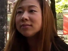 Asian MILf tourist gets her throat fucked hard