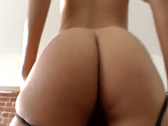 Classy eurobabe assfucked from behind