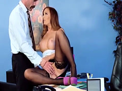Big assed Dani Jensen fucked before the night is out