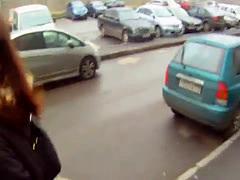 Pickedup european cutie fucked in POV