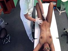 Doctor bangs natural busty ebony