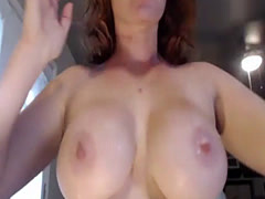 Busty Redhead Deepthroating - Download Me Free at SLUT9,COM