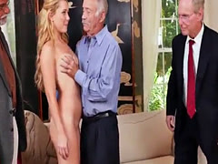 Milf fuck old man and sexy dad Frannkie And The Gang Tag Team A Door T