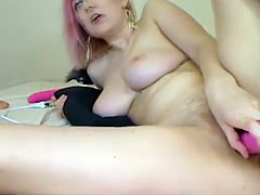 Horny College Girl Masturbate Her Pussy on Cam