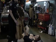 Sexy cops and milf duddy's daughter threesome hd xxx Chop Shop Own