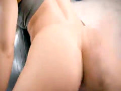 Blonde babe Nicole Aniston tight ass fucked from behind