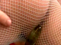 Veronica Avluv enjoys a hard dildo