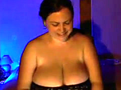 Charming Big Tits Floozy