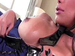 Transgirl Juliana Noguiera and Alex Victor hardcore anal