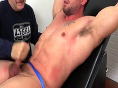 Teen gay ass and feet movie xxx Casey More Jerked & Tickled