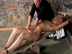 Bondage gay movie thumbs British twink Chad Chambers is his recent