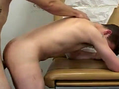 Gay doctor eats cum first time As he pumped and thrusted his