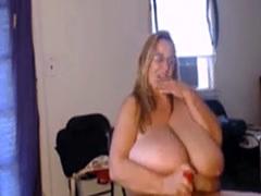 Intoxicating Huge Boobs Flirt