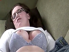 ThePrivateSociety - Super Horny Chunky Babe in Glasses