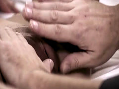 Cute blonde taboo fucked by her horny older stepdad