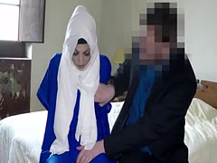 Very hot muslim woman paid for sex