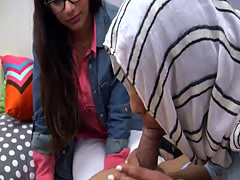 Sex amateur arab old first time BJ Lessons with Mia Khalifa