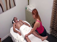 Asian masseuse turns out to be the best cock teaser ever