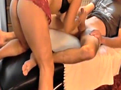 My huge tittied stepmom fucked hard