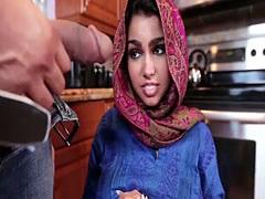 Creampie wanting arab teen