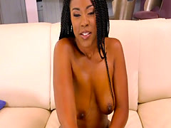 Awesome Big Ass Ebony Hottie Rides Dick