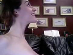 See this pretty girl get a cum wash