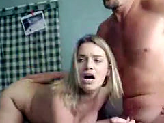Desperate house wife gets fucked by a plumber