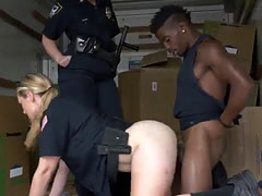 Oily milf solo Black suspect taken on a rough ride