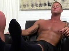 Gay twinks sucking feet Dev Worships Jason James' Manly Feet