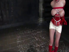 Dirty redhead loves having her body used