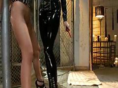 Ho blondes enjoy hardcore BDSM pleasures