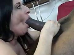 brunette-with-big-tits-sucks-on-a-massive-black-cock - hotslut*