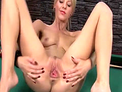 Barbora and Nathaly Lesbian Toying Porn